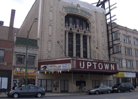 Uptown Theatre, 2012.  Image via @blaservations