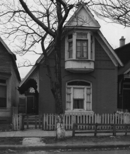 1327 South Oakley Avenue, circa 1973, demolished (image via Illinois Historic Preservation Agency)