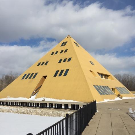 pyramid exterior